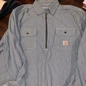 Carhartt quarter zip never worn pullover